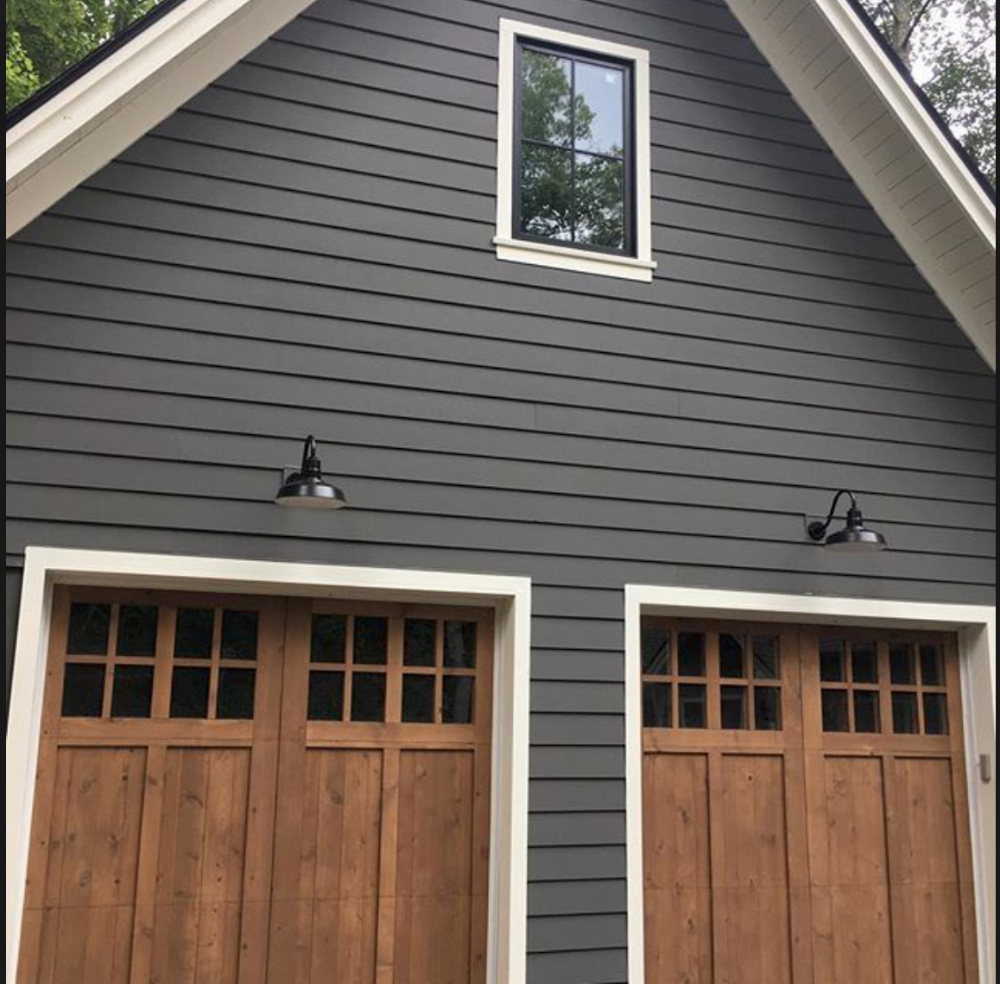 2019 Exterior House Colors from the Benjamin Moore Palette #greyexteriorhousecolors