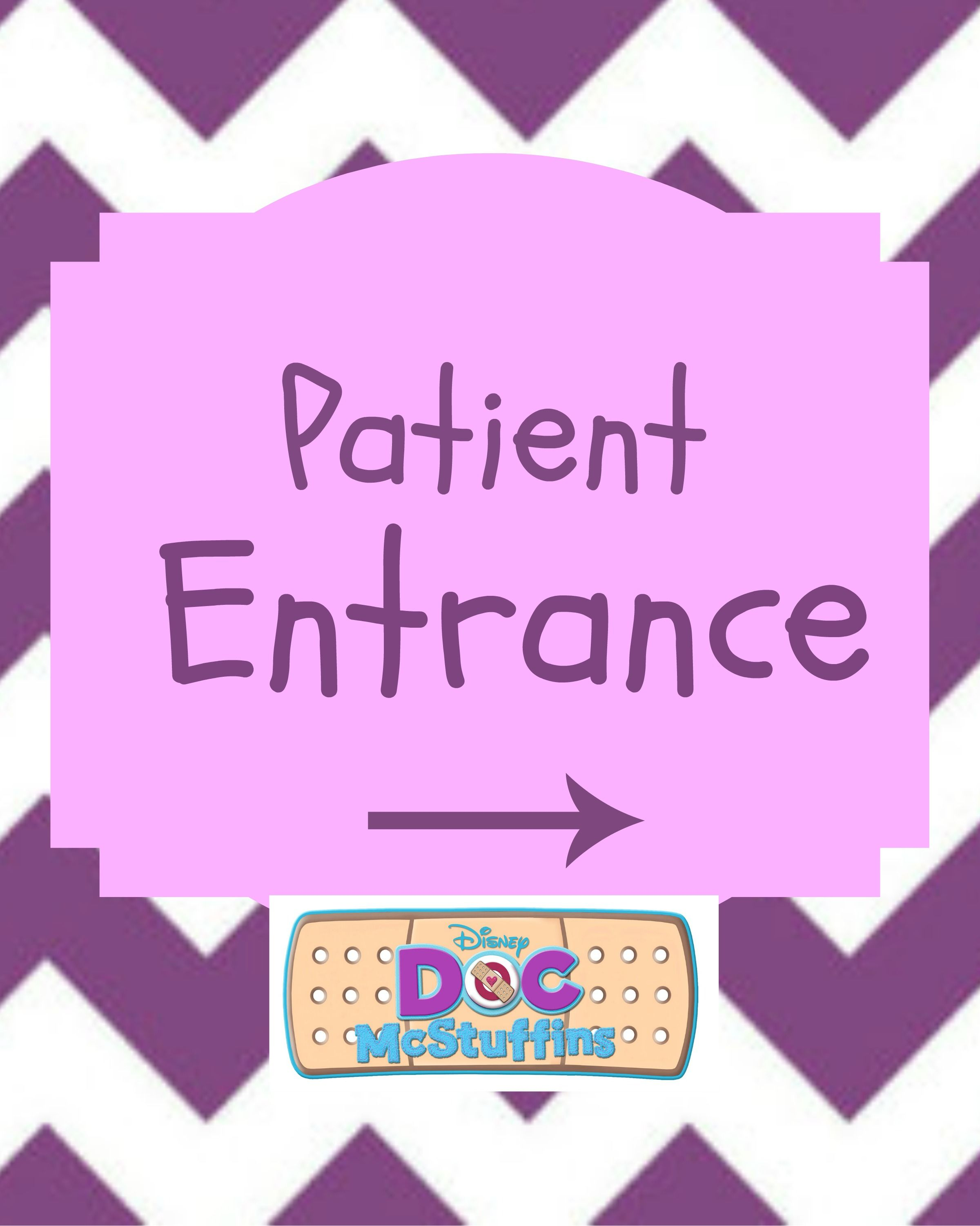 Doc Mcstuffins Party Sign Arewallace At Yahoocom To Purchase Party