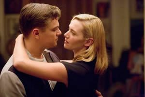 Leonardo Di Caprio and Kate Winslet.  The things you can create.