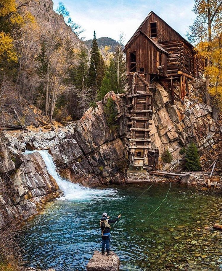 Crystal mills colorado absolutely amazing a great spot for Fishing spots in colorado springs