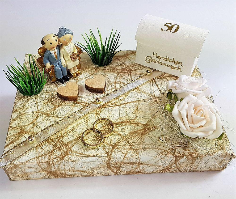 Geldgeschenke Geldgeschenk Zur Goldenen Hochzeit Paar Auf