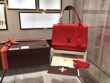 Louis Vuitton Lockme II Bag from the Spring Summer 2015 Collection, Cherry 8b40593fab