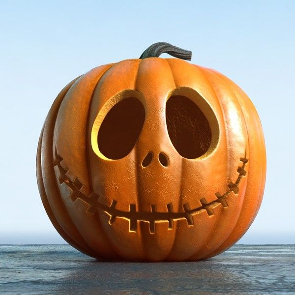 3d set jack o lanterns jack model | Pumpkin carving, Amazing