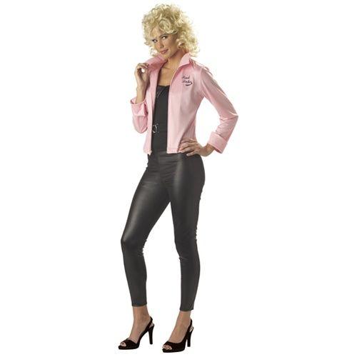 Wholesale Halloween Costumes - Womens Grease Pink Ladies Jacket ...