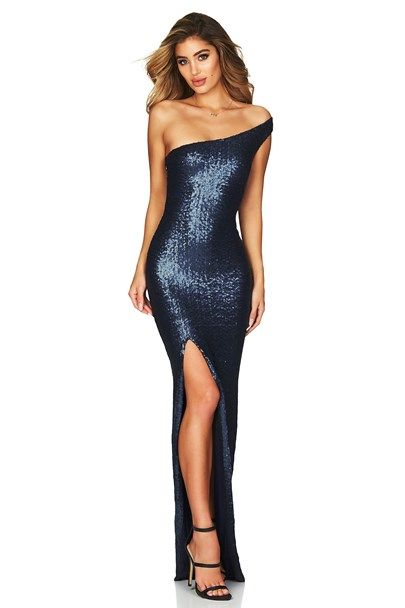 e3f2acdcd5a4 SPELLBOUND ONE SHOULDER GOWN : Buy Designer Dresses Online at Nookie ...