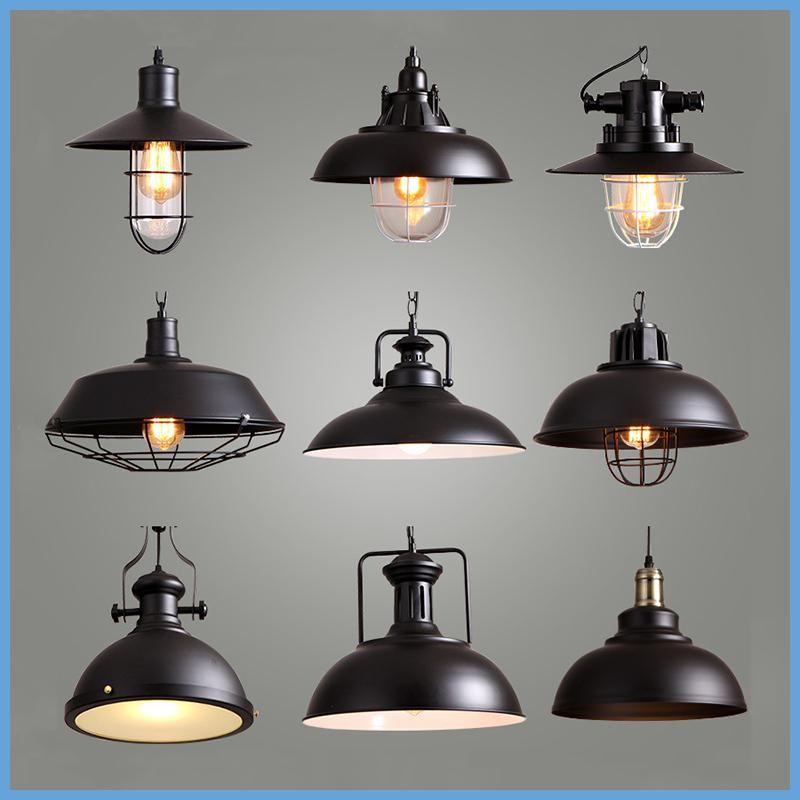Industrial Style Retro Pendant Lights Vintage Pendant Lamp Hanging