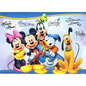 Write a letter to your favorite Disney character and they will send you an autographed postcard