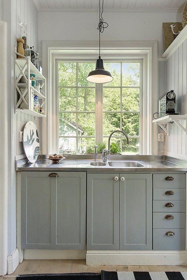 Diseño para Cocinas pequeñas | Decoración | Pinterest | Diseños para ...