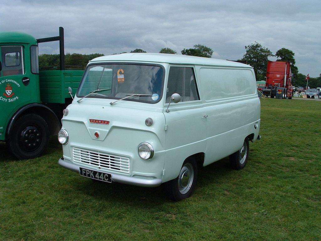 FORD THAMES TRADER | van kecil dan besar | Pinterest | Ford, Vans ...