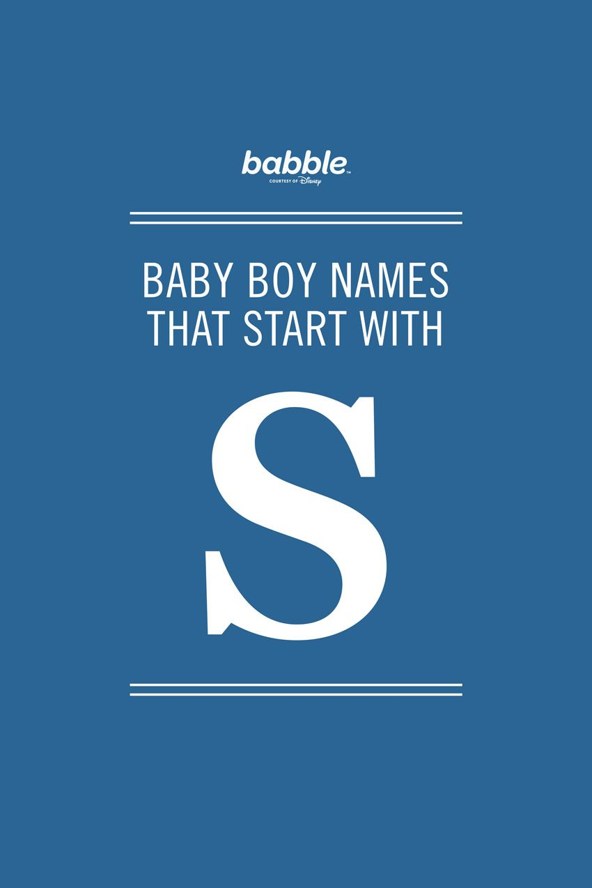 Boy Names That Start With S Baby Names Pinterest Baby Names