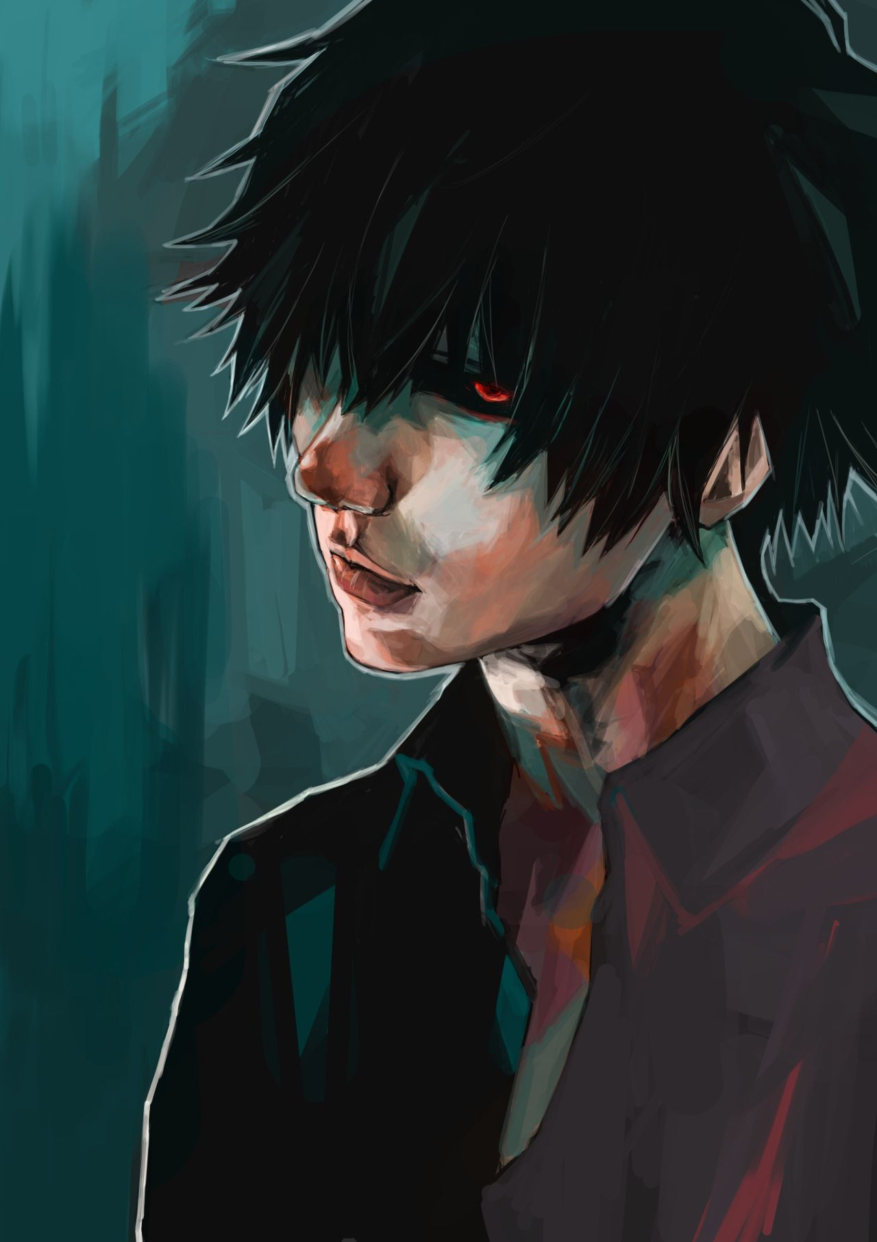 cosplay kaneki Black reaper
