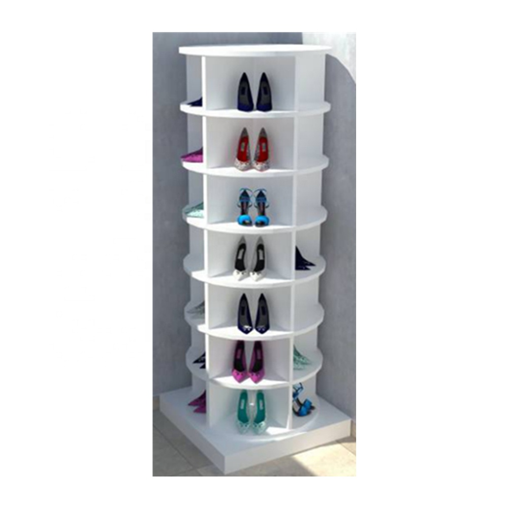 Revolving Wood Shoe Cabinet Racks For Storges Shoes Rotating 360 Round Can Customized Buy Revolving Shoe Racks Stor Wooden Shoe Racks Wood Shoes Shoe Cabinet