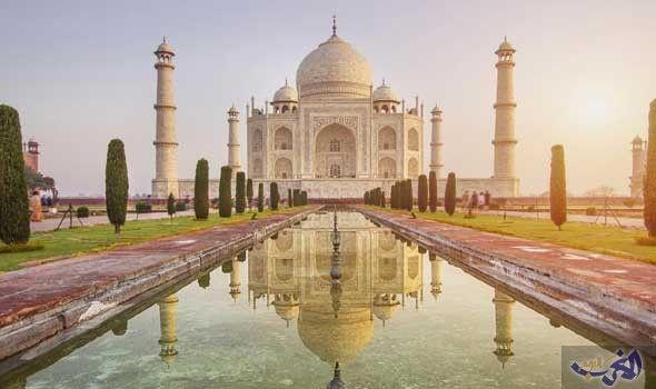 إزالة أهم عجائب الدنيا السبع من كتيب السياحة والهنود يعتبرونها مزحة مأساوية Taj Mahal Around The Worlds World Heritage
