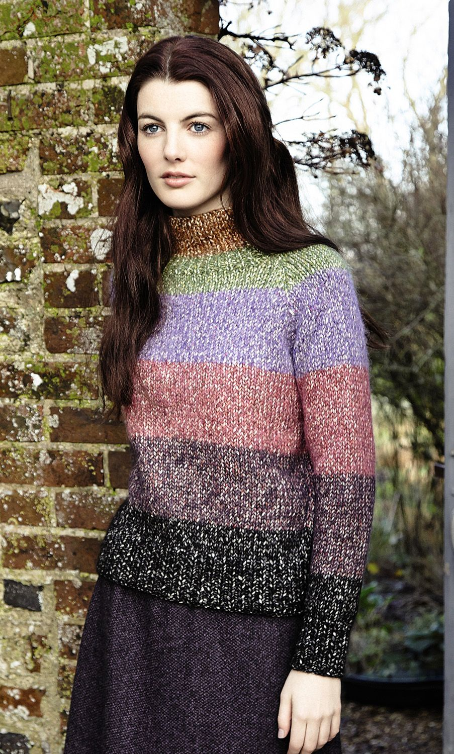 Aisling by Marie Wallin: Rowan Fazed Tweed Collection (available July 15, 2014)