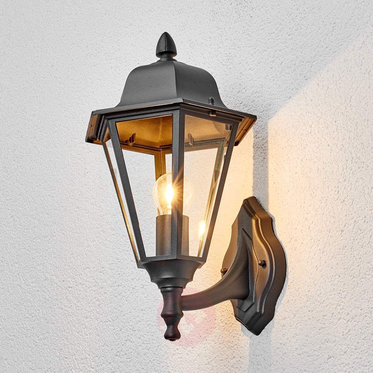 Edana Zewnętrzna Lampa ścienna Grafitowa Lampy Wiszące