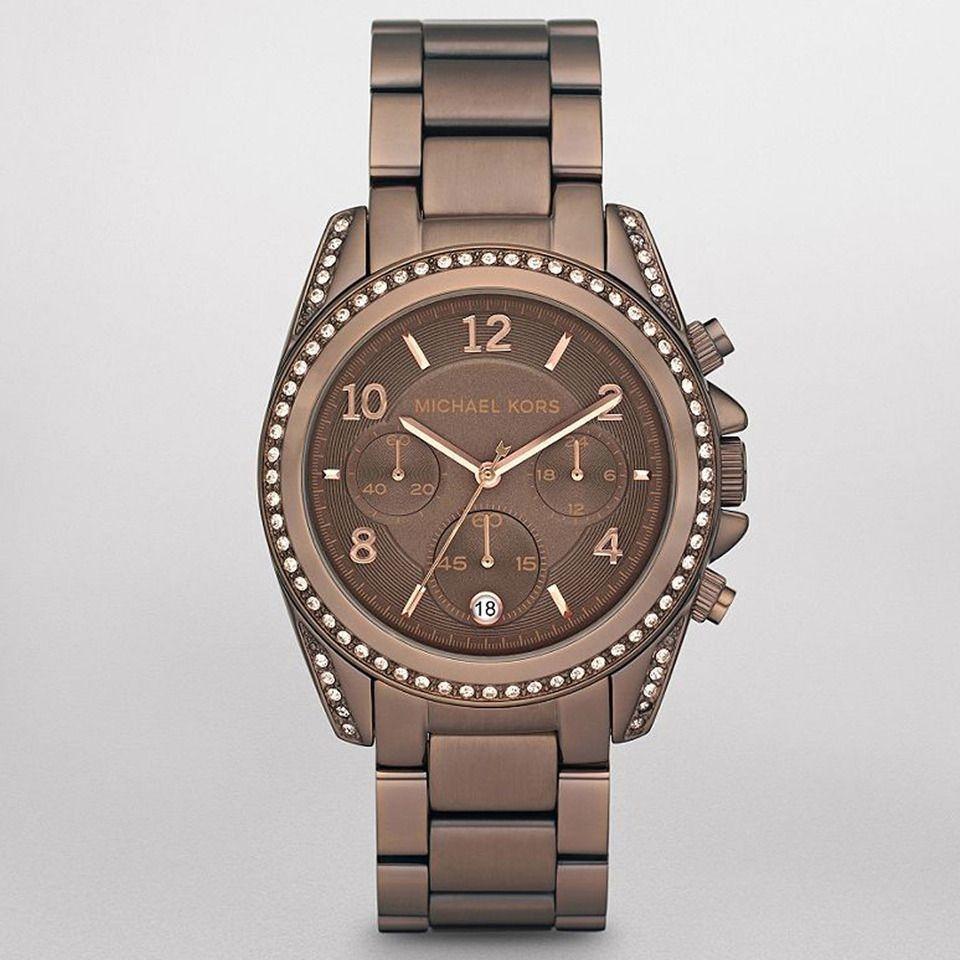 Michael Kors Ladies' Runway Chronograph Watch