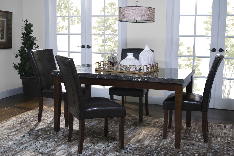Danville Black Dining Room Mor Furniture For Less