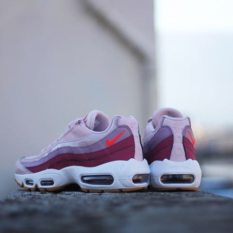 Nike Air Max 95 Femme Rose Hot Punch 307960 603