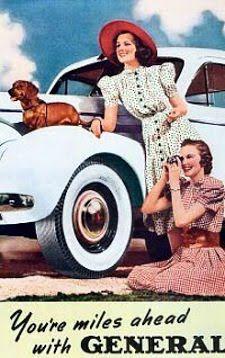 old school dachshund ad
