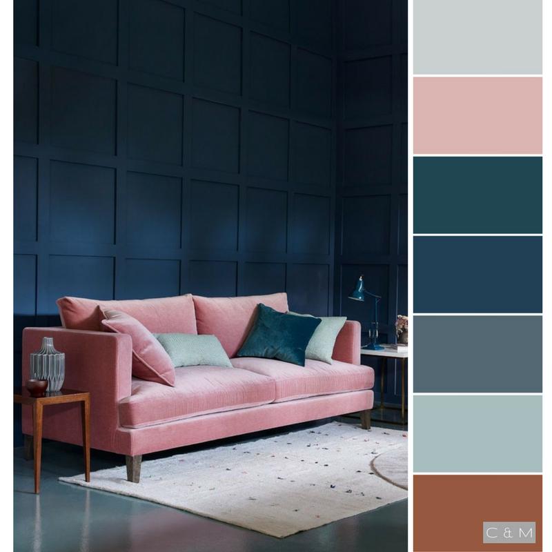 Dreamy Bedroom Color Palettes: Amazing Color Palette For Design Work.