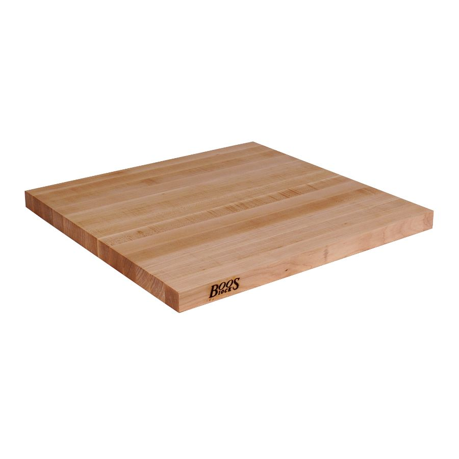 Hard Rock Maple Edge Grain Butcher Block Counter Top - 1.5 inch John ...