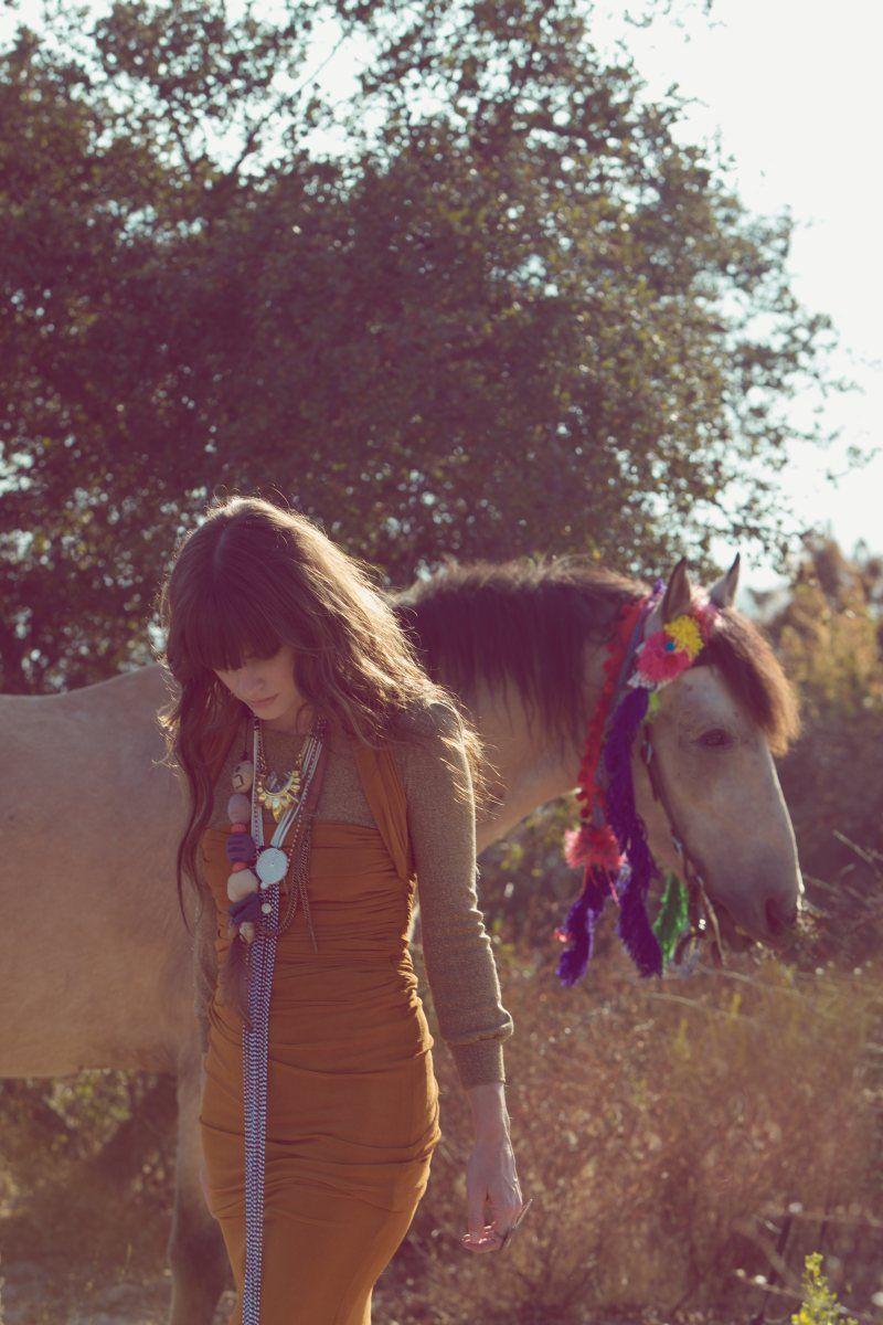 Nice dress, nice horse
