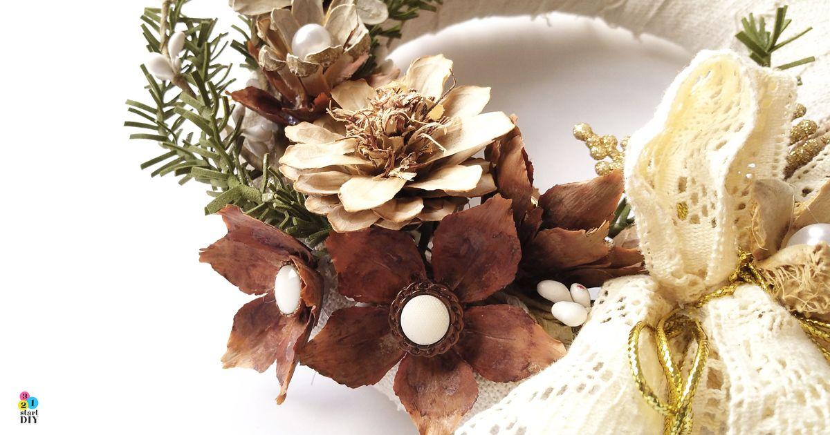 Kwiaty Z Szyszek Trzy Sposoby Na Florystyczna Dekoracje 321startdiy Diy Inspiration Decor Flowers