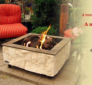 natural gas or propane outdoor fireplaces FIREPLACES Outdoor