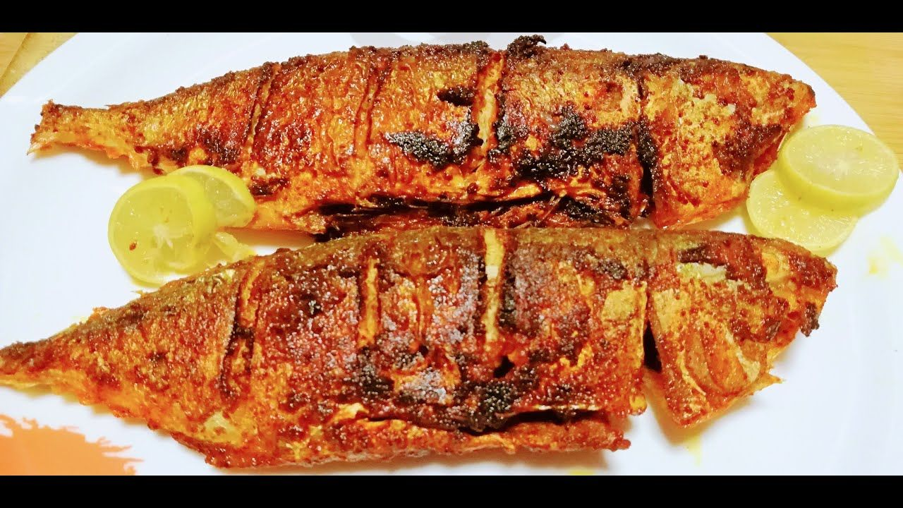 Authentic Mangalorean Fish Fry Fish Fry Mangalore Style Bangude Fr Fried Fish Indian Food Recipes South Indian Food