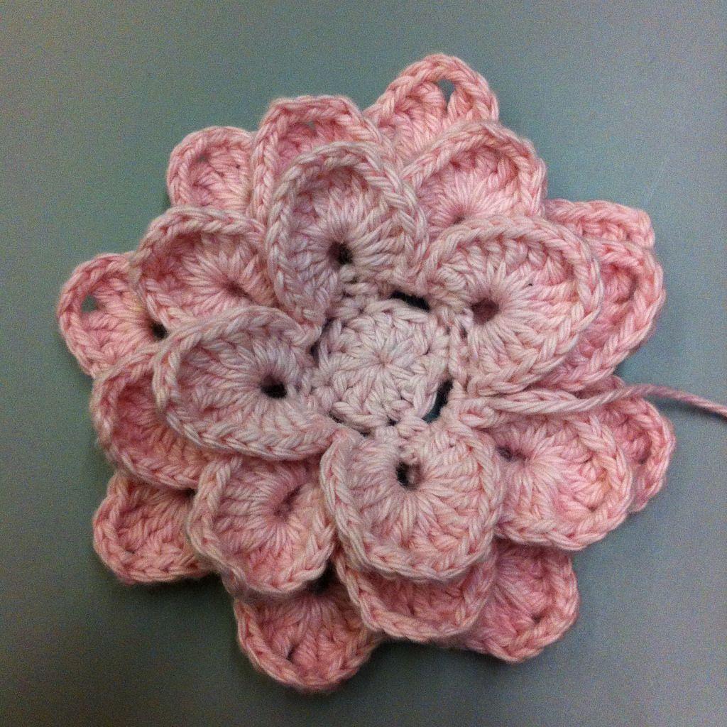 Suvi\'s Crochet: Lotus Flower | fiori all\'uncinetto | Pinterest ...