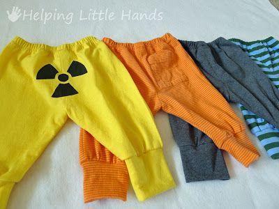 3edeec181ff97 Costura Niños  Patrón Pantalones para recien nacidos Gratis ...