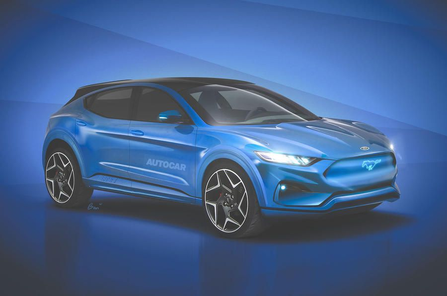 Ford Mach E Electric Crossover Takes Aim At Tesla Model Y Electric Crossover E Electric Ford