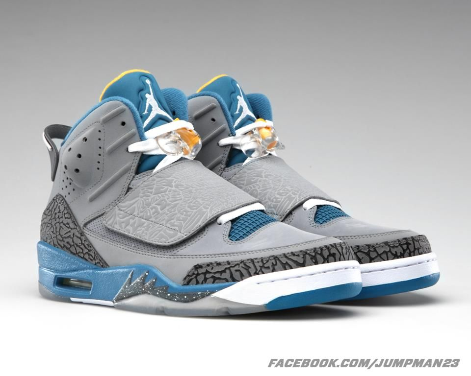buy online 7441d 890f8 Hits of shaded blue and university gold Son of Mars Shoe Game, Air Jordans,