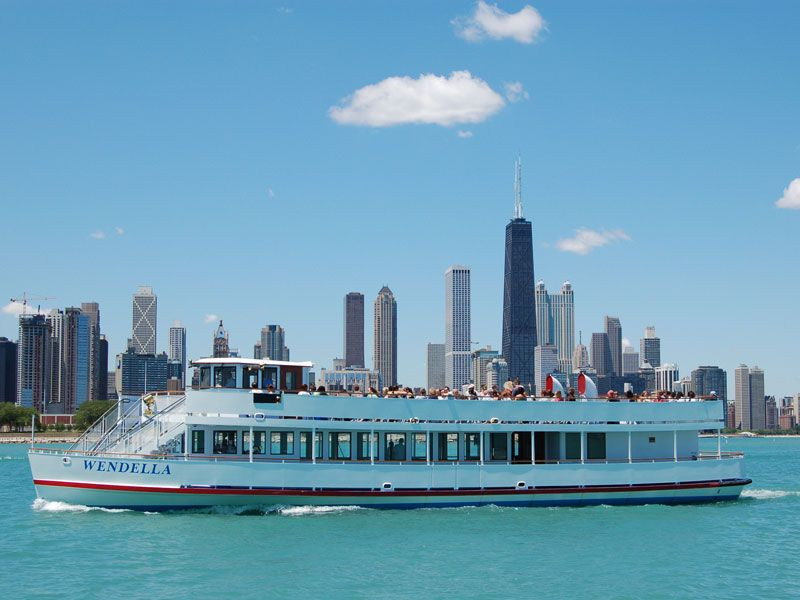 Chicago boat tours. This was my favorite part of visiting