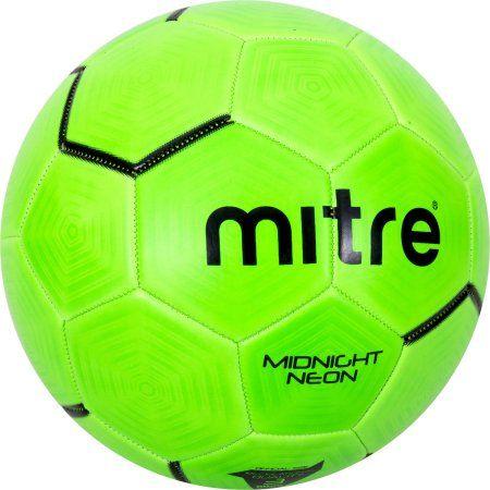 Sports Outdoors Soccer Ball Neon Green Soccer