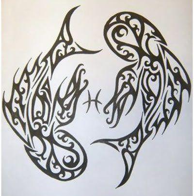 10 Elegant Pisces Tattoo Designs March Pisces Daffodil