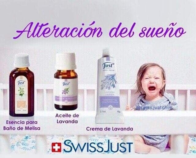 Crema de manzanilla just para bebés