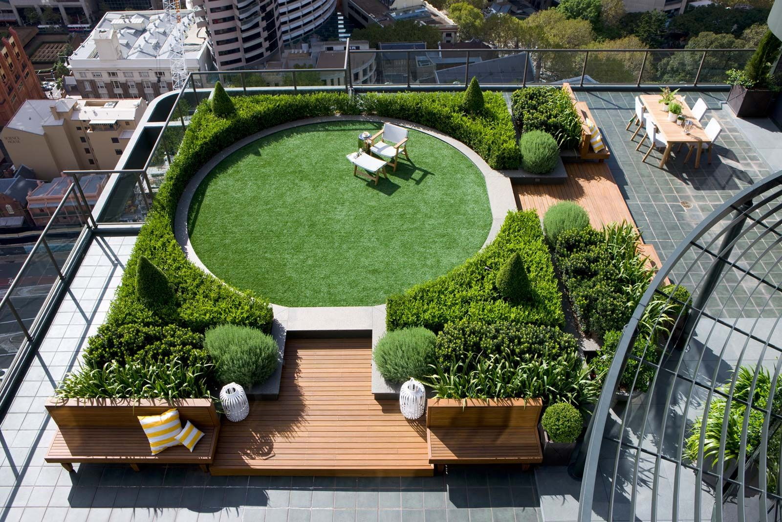 Sydney Rooftop Landscape Design Home Garden Layouts Pinterest