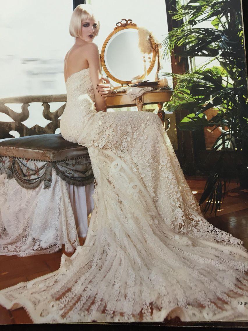 Les Habitudes#Los Angeles#Beautiful bridal gown | Bridal | Pinterest ...