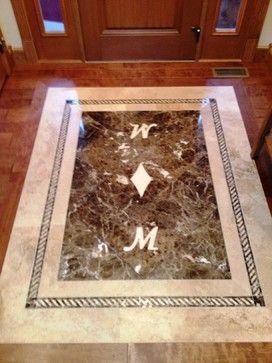 Countertop Tile Inlay Google Search Inlay Flooring Wood Floors Wood Tile Floors