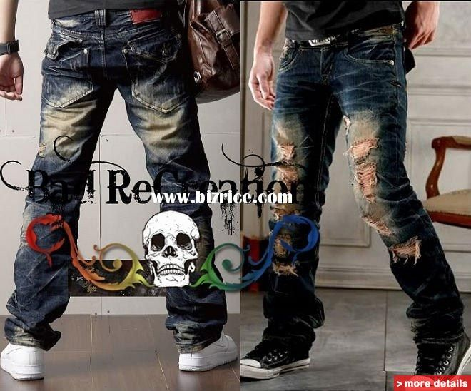 Men's Designer Jeans On Sale | MENS DESIGNER RIPPED COOL POCKET ...