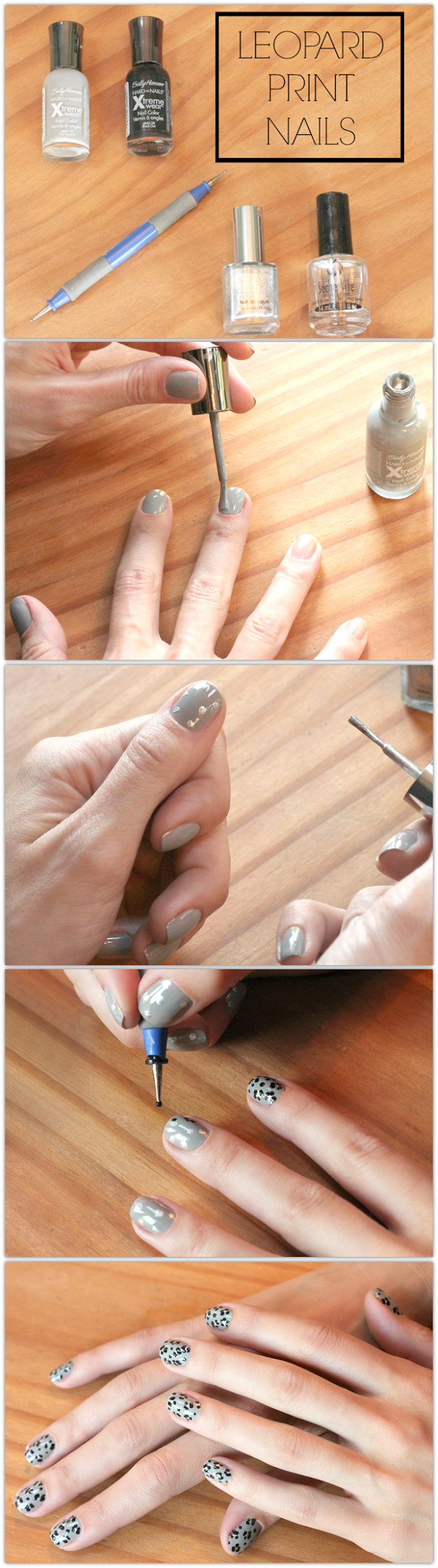 Leopard Print Nails | Leopard print nails, Leopards and Manicure