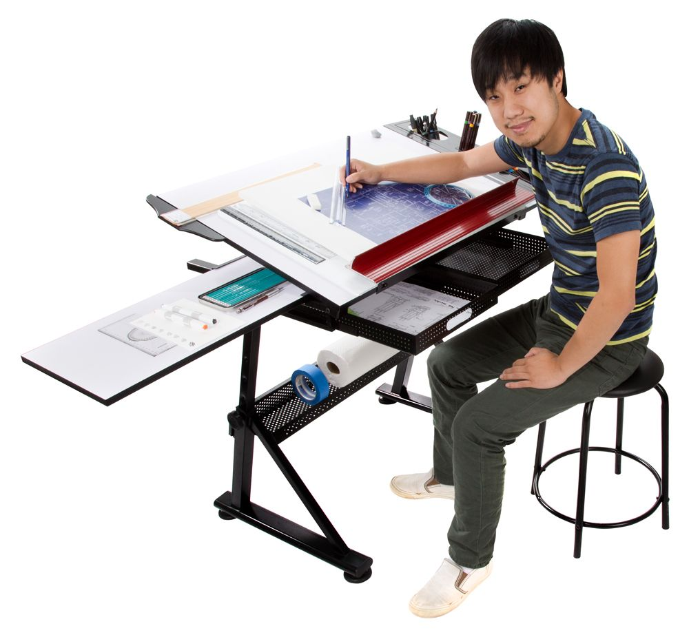 Artist table drafting drawing table soho - Mesas de arquitectura ...