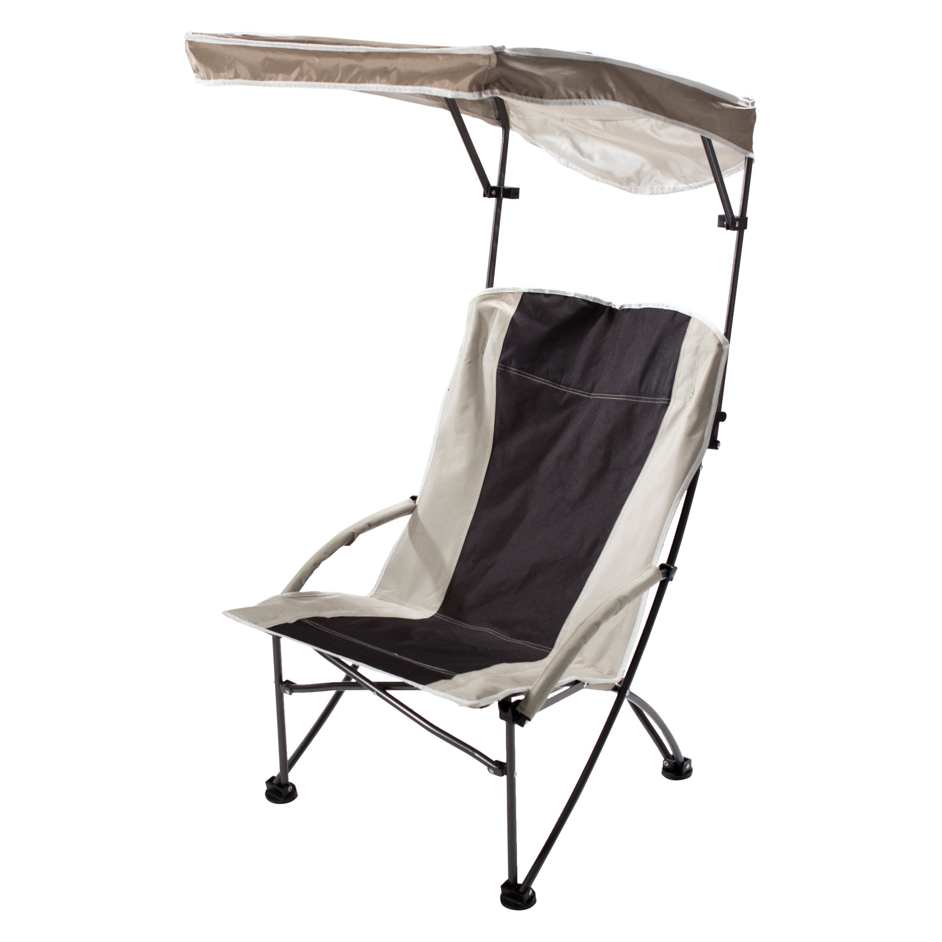 Outdoor Quick Shade Pro fort Folding High Camp Chair with