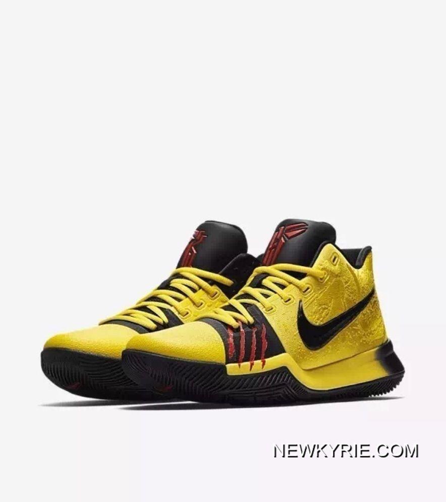 Nike Kyrie 3 Bruce Lee Men Basketball
