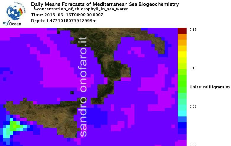 #meteo #forecast #fishing #pesca #mediterranean #mediterraneo #sea #mare 16/06/2013 south #Italy #Italia