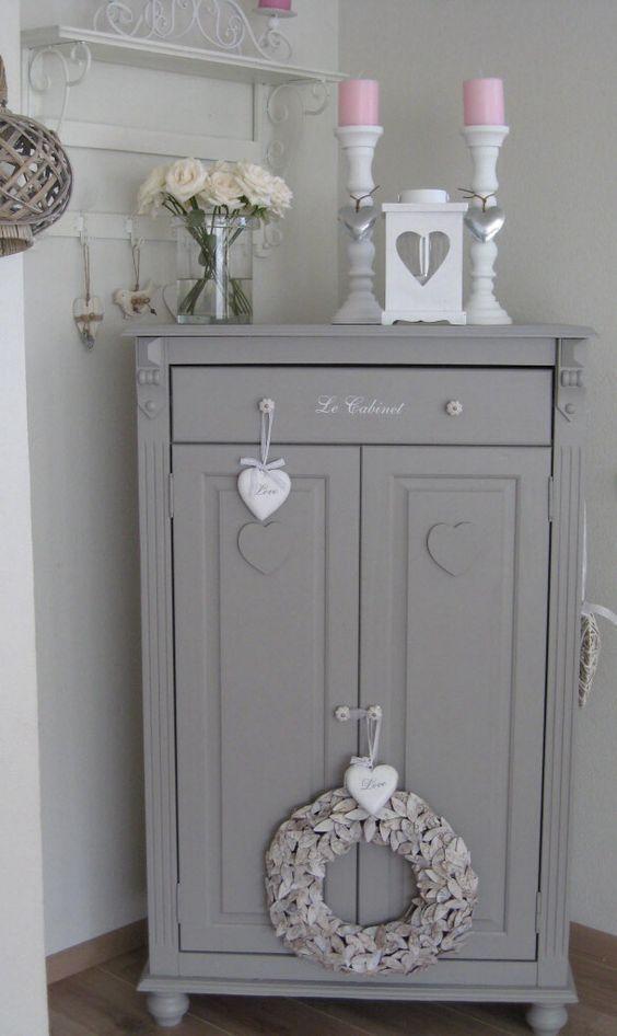 Shabby Chic Grey Dresser Vintageshabbychicfurniture