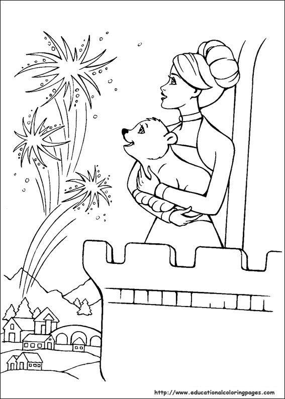 Barbie Magic Pegasus Coloring Pages - Educational Fun Kids ...