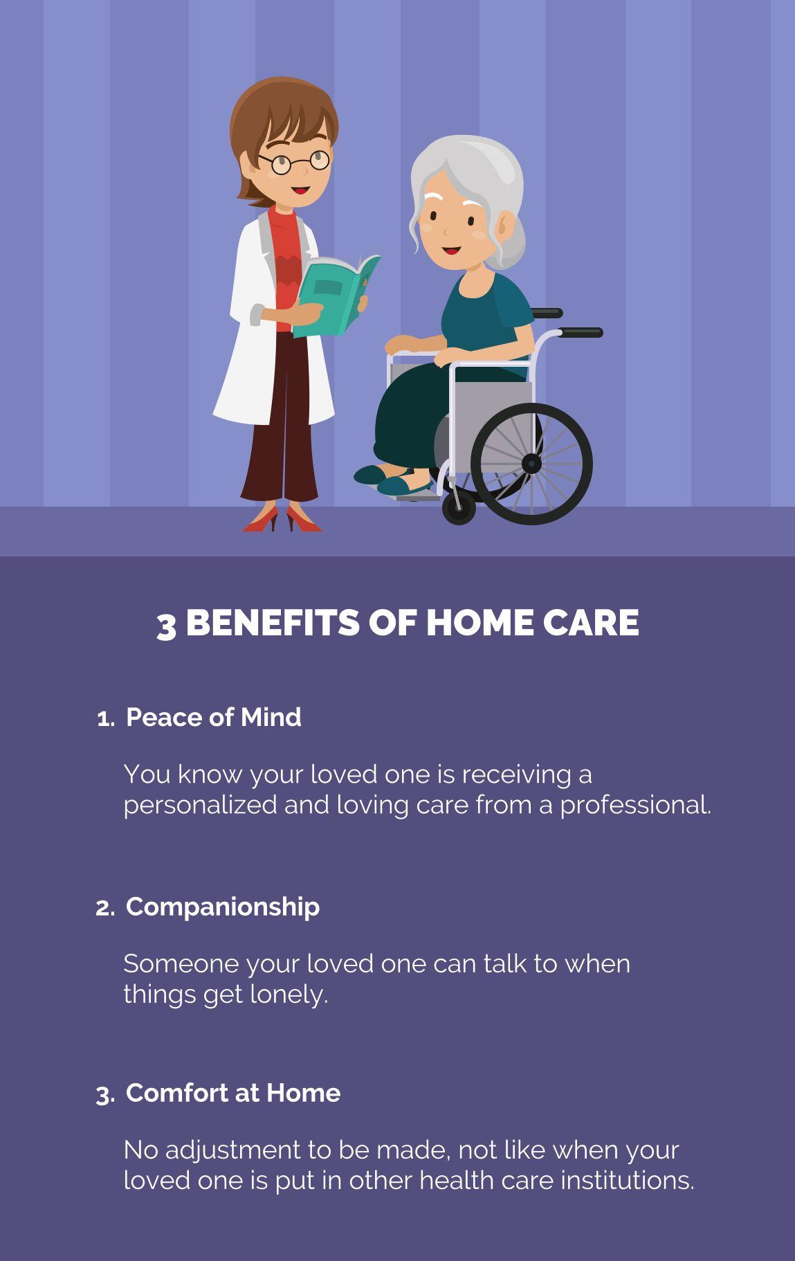 3 Benefits of Home Care Homecare SeniorCare Home care