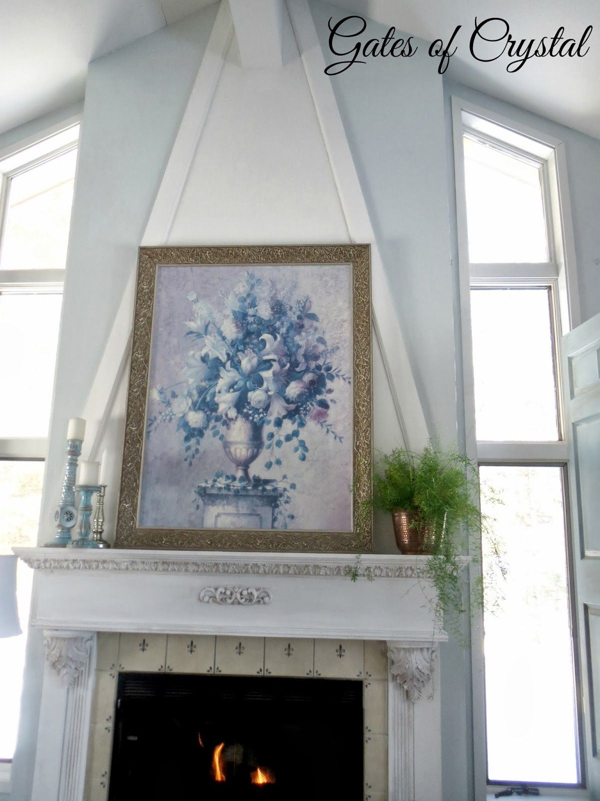 Gates of Crystal: Building a Fireplace Mantle